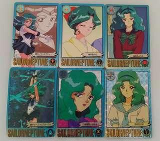 珍藏同系列美少女戰士白咭、閃咭