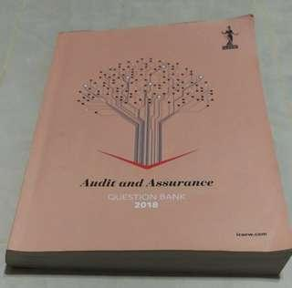 ICAEW Audit and Assurance Question Bank 2018