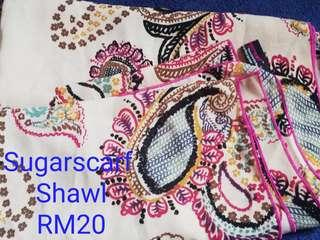 Preloved Sugarscarf Shawl