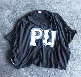 Puma loose fit cropped top
