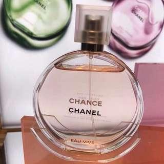 Chanel Chance Eau Vive 橙光輕舞女士淡香水