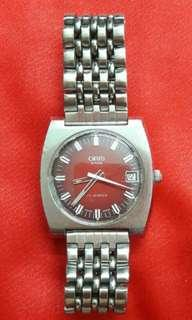 Swiss Oris 17Jewels Wrist Watch