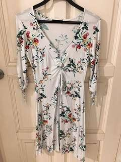 Cotton On White Floral Dress