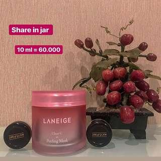 Laneige Clear C Peeling mask ( Share in jar ) 10 ml