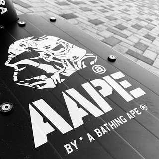 Premium Vinyl waterproof Stickers decal for escooter fixie bicycle luggage motorbike laptop hand phone skateboard notebook scooter dyu fiddo car stickers deck sticker A Bathing Aape