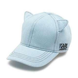 🚚 Karl Lagerfeld 老佛爺貓耳棒球帽