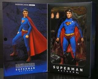 Hot Toys Superman Returns MMS14 not enterbay sideshow dc collectible or hottoys