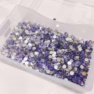 🚚 施華洛世奇水鑽-夢幻紫#半價良品市集