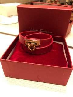 Salvatore Ferragamo bracelet Authentic