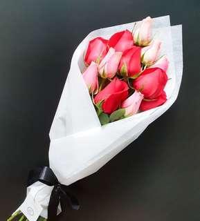 ☆PROMO☆ 12 Rose Bouquet