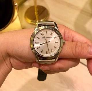 Karl Lagerfeld authentic watch