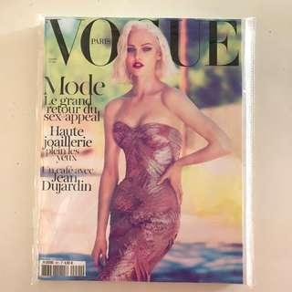 Collector's Copy! French Vogue Oct 2011- Sasha by Mert & Marcus