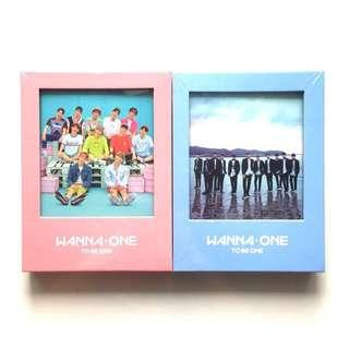 wts wanna one debut to be one sealed album