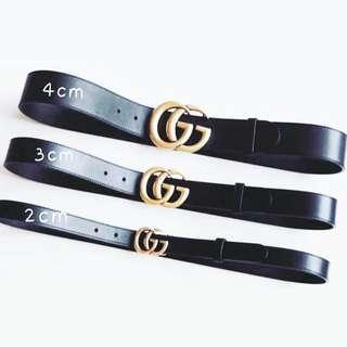🔥Authentic GUCCI GG LOGO Belt, 2,3 & 4cm Available!!, Unisex