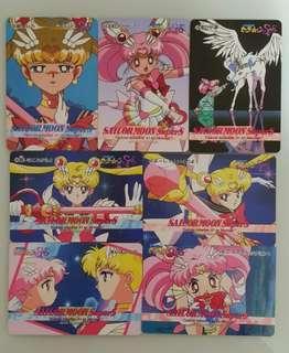 珍藏同系列美少女戰士白咭-Sailormoon Super S