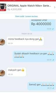 Another Precious Testi! - Applewatch Nike+ Series 3