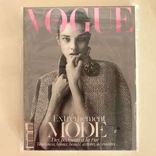 Collector's Copy of French Vogue March 2012 Issue- Natalia shot by Mert & Marcus