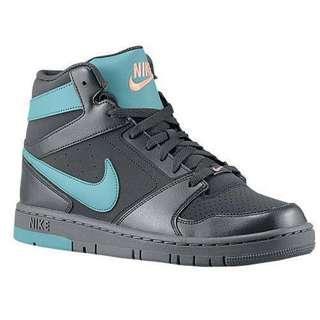 Nike Air Prestige IV Men's Dark Gray/Teal High Cut Sneakers