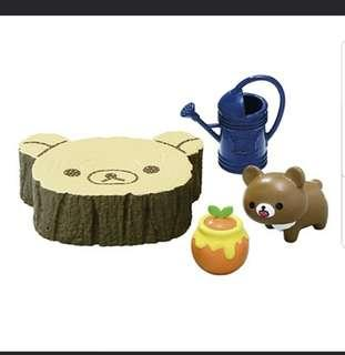 Re-ment Rilakkuma Honey Garden 鬆弛熊食玩 No.4