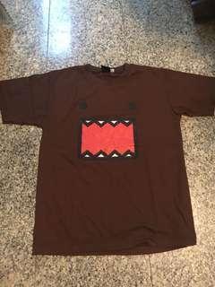 Brown Domo Cartoon Shirt T-shirt