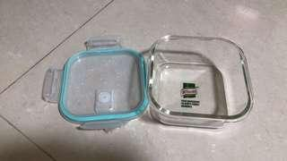 $5 brand new glass storage container food 800ml