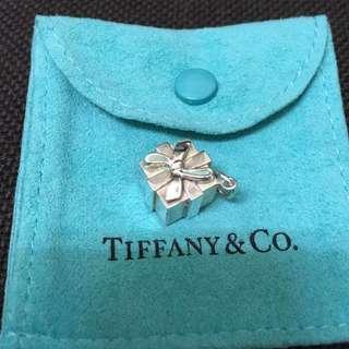 Tiffany 二手真正品項鍊墜子 禮物盒 gift box