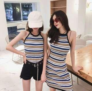 stripes shirt/dress 🌷