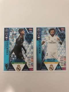 🚚 Match Attax 2018/2019 Winner Card
