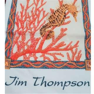 Jim Thompson T-shirt with seahorse motif