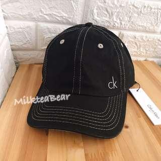 🇬🇧🇺🇸 Calvin Klein Ck 刺繡logo cap帽(現貨)
