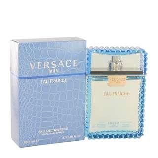 Versace Man by Versace 100 ml Eau Fraiche Eau De Toilette Spray (Blue) for Men