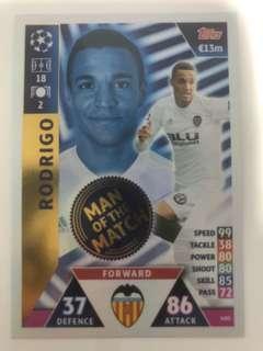 Match Attax 2018/2019 Man Of The Match