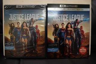 Justice League 4k Ultra HD Blu-ray
