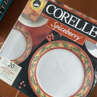 Corelle - Spiceberry 20-pcs Dinnerware set (Price & Shipping Charges Reduced!!)