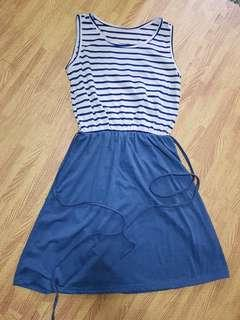 Blue Nautical Dress