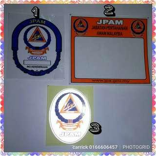 Stiker Jpam Pertahanan Malaysia