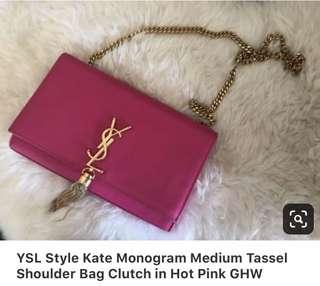 Ysl hot pink Limited edition no flaws super nice and Rare