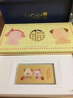 Le gold 1g gold bar