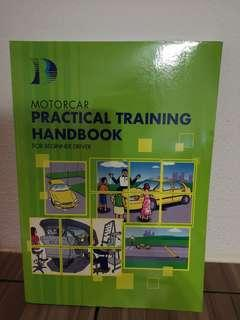 Motorcar practical training handbook for beginner