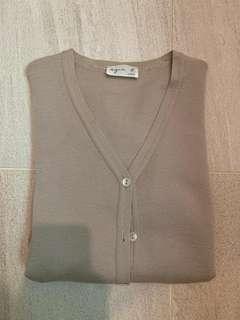 Agnes b cotton 上衣, 闊47 cm 長54 cm
