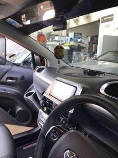 Idrive Hd DVR with Battery Pack bundle for Toyota Sienta