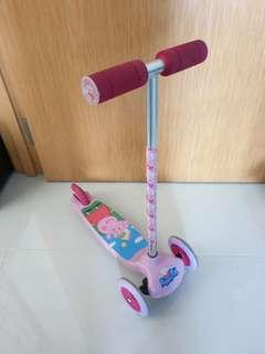 Peppa Pig Kids Scooter