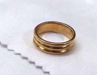 Gold ring - a gift her for her? (916 gold only) ❤️