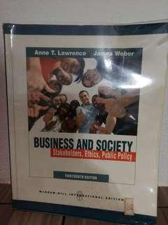 🚚 Business and society stakeholders, ethics and public policy