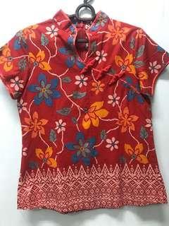 Oriental batik