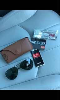 BRAND NEW AUTHENTIC Black Ray Ban Sunglasses
