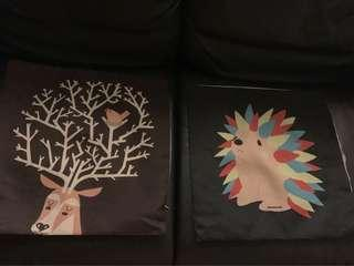Cushion covers (a set of 6)