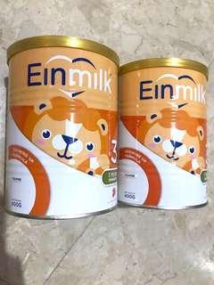 Einmilk stage 3