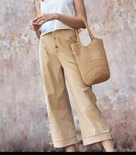 🚚 BNWT TCL Charis Buttoned Pants in Khaki (XS)