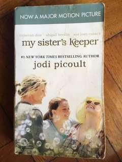 Preloved English Novel - My Sister's Keeper by Jodi Picoult